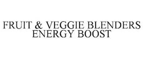 FRUIT & VEGGIE BLENDERS ENERGY BOOST