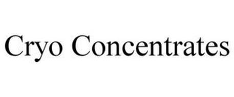 CRYO CONCENTRATES