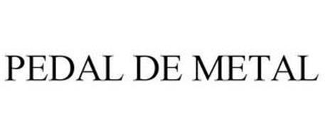 PEDAL DE METAL