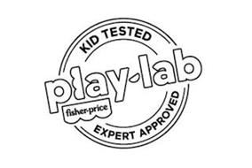 PLAY-LAB FISHER-PRICE KID TESTED EXPERT APPROVED