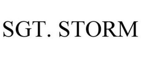 SGT. STORM