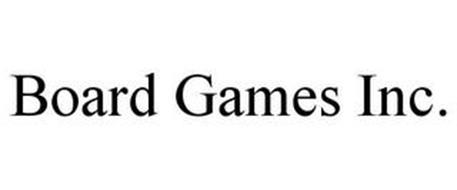 BOARD GAMES INC.