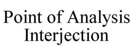 POINT OF ANALYSIS INTERJECTION