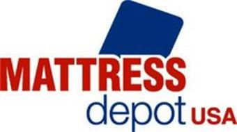 MATTRESS DEPOT USA Trademark of Mattress Depot USA Inc