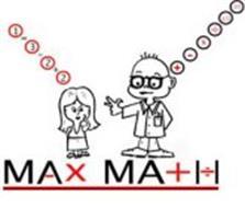 MAX MATH 1-3-2+2 + - X 1/2 03