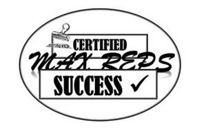 CERTIFIED MAX REPS SUCCESS APPROVED