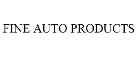 FINE AUTO PRODUCTS