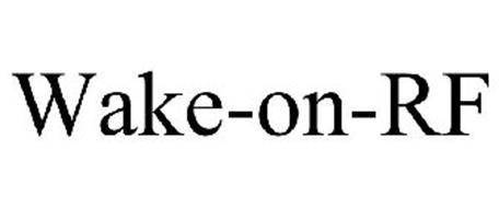 WAKE-ON-RF