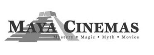 MM MAYA CINEMAS MYSTERY · MAGIC · MYTH · MOVIES