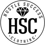 HSC HUSTLE SUCCESS · CLOTHING ·
