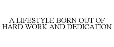 A lifestyle born out of hard work and dedication trademark of a lifestyle born out of hard work and dedication trademark information mayweather promotions altavistaventures Image collections