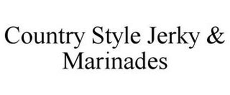 COUNTRY STYLE JERKY & MARINADES