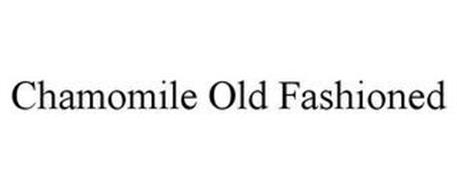 CHAMOMILE OLD FASHIONED