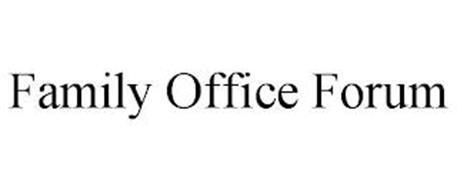 FAMILY OFFICE FORUM