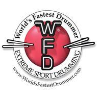 WORLD'S FASTEST DRUMMER WFD EXTREME SPORT DRUMMING WWW.WORLDSFASTESTDRUMMER.COM