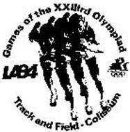 GAMES OF THE XXIIIRD OLYMPIAD LA84 TRACK AND FIELD-COLISEUM