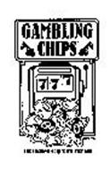 GAMBLING CHIPS 777 THE LUCKIEST CHIP YOU'LL EVER EAT!