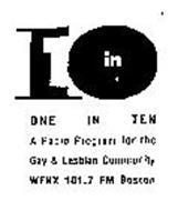 One In Ten Gay 76