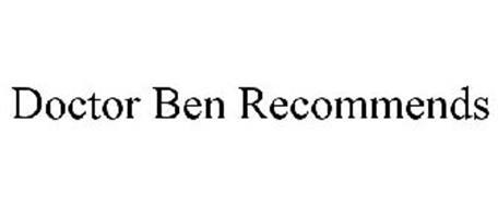 DOCTOR BEN RECOMMENDS