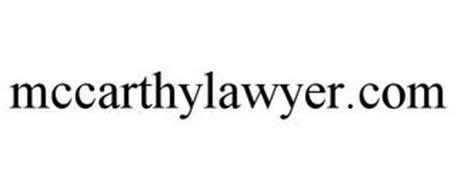 MCCARTHYLAWYER.COM