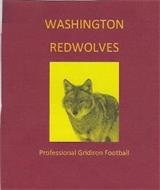 WASHINGTON REDWOLVES PROFESSIONAL GRIDIRON FOOTBALL