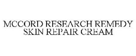 MCCORD RESEARCH REMEDY SKIN REPAIR CREAM