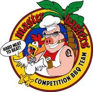 MASTER BASTERS HARD MEAT TO BEAT! COMPETITION BBQ TEAM Q
