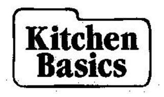 KITCHEN BASICS Trademark of MCCORMICK & COMPANY, INCORPORATED ...