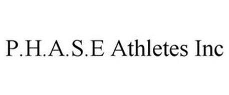 P.H.A.S.E. ATHLETICS INC