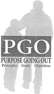 PGO PURPOSE GOING OUT PRINCIPLES GOALS OBJECTIVES