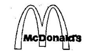MCDONALD'S M