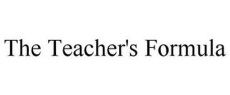 THE TEACHER'S FORMULA