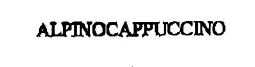 ALPINOCAPPUCCINO