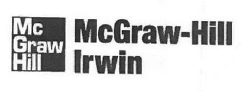MCGRAW HILL MCGRAW-HILL IRWIN