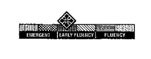 EMERGENT EARLY FLUENCY FLUENCY
