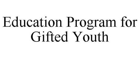 EDUCATION PROGRAM FOR GIFTED YOUTH