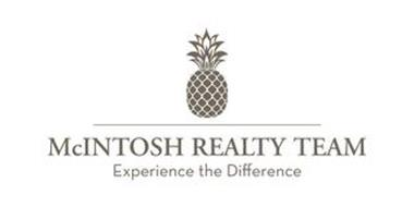 MCINTOSH REALTY TEAM EXPERIENCE THE DIFFERENCE