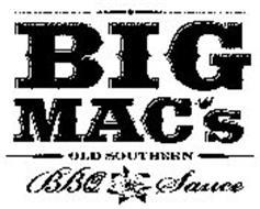 BIG MAC'S OLD SOUTHERN BBQ SAUCE