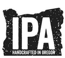 IPA HANDCRAFTED IN OREGON