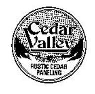 CEDAR VALLEY RUSTIC CEDAR PANELING