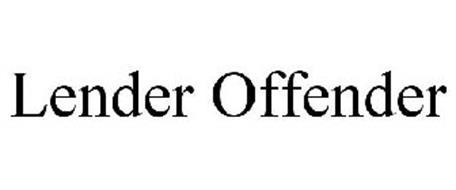 LENDER OFFENDER