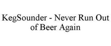 KEGSOUNDER - NEVER RUN OUT OF BEER AGAIN