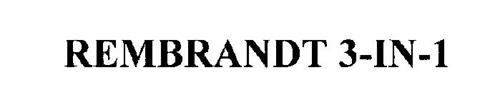 REMBRANDT 3-IN-1