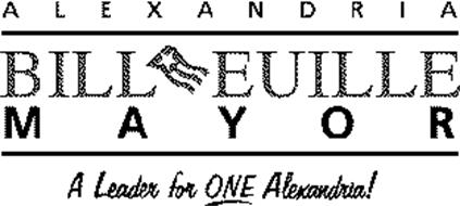 ALEXANDRIA BILL EUILLE MAYOR A LEADER FOR ONE ALEXANDRIA
