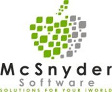 MCSNYDER SOFTWARE SOLUTIONS FOR YOUR IWORLD