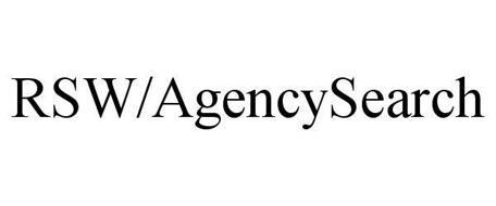 RSW/AGENCYSEARCH