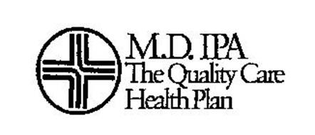 M.D. IPA THE QUALITY CARE HEALTH PLAN