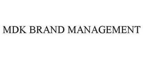 MDK BRAND MANAGEMENT