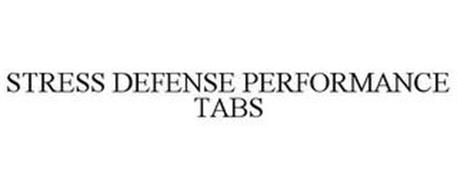 STRESS DEFENSE PERFORMANCE TABS
