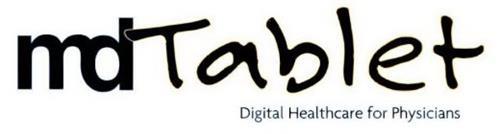 MDTABLET DIGITAL HEALTHCARE FOR PHYSICIANS